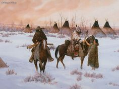 Drawing & Painting: Native American - There Were No Good Bys, picture nr. 28