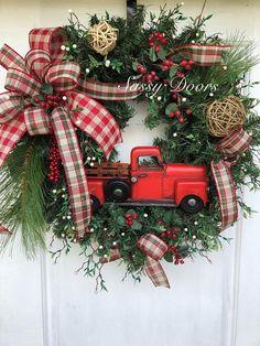 Christmas Wreaths Woodland Christmas Wreath Rustic Christmas