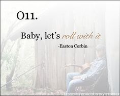 dont think about it too much. country lyrics
