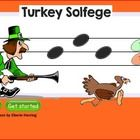 In this SMARTBoard lesson, students touch the hunter to listen to a linked solfege example. They must decide how the last note moves and put the tu...