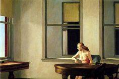 Edward Hopper City Sunlight, 1954