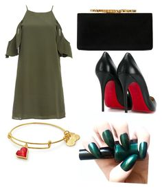 """""""Untitled #11"""" by oumaimalong on Polyvore featuring DailyLook, Christian Louboutin, Jimmy Choo, men's fashion and menswear"""