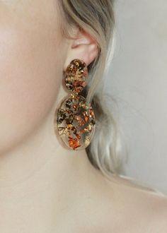 @gildjewels #handmade #resinjewelry