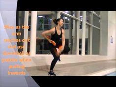 Aqua Aerobics - Aqua Sphere Dumbbell Workout - YouTube
