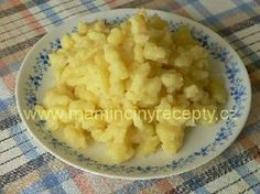 Halušky z brambor Czech Recipes, Ethnic Recipes, Food 52, Mashed Potatoes, Macaroni And Cheese, Side Dishes, Czech Republic, Videos