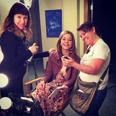 Sasha was on set today!! 6x02 / 6x03 #PLL