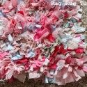 Rag Rug tutorial  Finally something I can do with the fabric from all of Rylan's blankets!