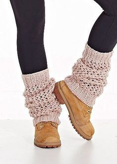 Ideas For Knitting Sweaters Diy Leg Warmers Crochet Leg Warmers, Crochet Boot Cuffs, Crochet Boots, Knitted Gloves, Guêtres Au Crochet, Braided Scarf, Mode Inspiration, Mittens, Knitting Sweaters