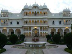 "Our safari ""lodge"", Nahargarh"