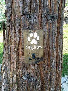 Dog Leash HolderDog Leash SignWood Dog SignDog by DodsonDecor