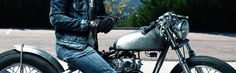 Motorcycle accessories such as motorcycle apparel, luggage, and parts all under the same roof