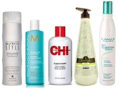 Get Squeaky Clean Hair: Best Clarifying Shampoos - A good clarifying shampoo removes all traces of product build-up from your tresses and restores shine. See a few of the best choices for this hair must-have.