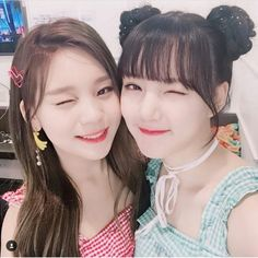 Happy birthday to Yerin and Umji from GFRIEND❤️ Hope they become more beautiful💘 Here's a buddy since . Bubblegum Pop, South Korean Girls, Korean Girl Groups, Sister Birthday, Happy Birthday, Entertainment, G Friend, Cute Korean, K Idols