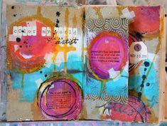 art journaling video w/ donna downey :)