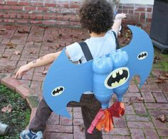 Diy cheap batman Halloween costume