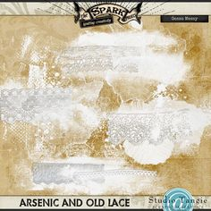 {The Spark Project} Arsenic and Old Lace Gesso Messy