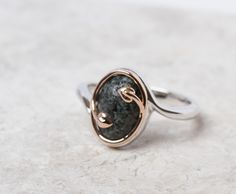 Exclusive collaboration with Catherine Huntley & Claire Jones launches live at 12 QVC UK! The Preseli Bluestone ring...