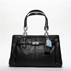 Coach Chelsea Jayden East/West Leather Carryall