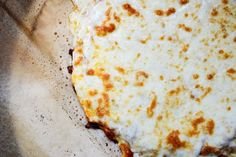 Tasty Kitchen Blog: Cauliflower Crust Pizza. Guest post by Jessica Merchant of How Sweet It Is, recipe submitted by TK member Michelle of The Lucky Penny.