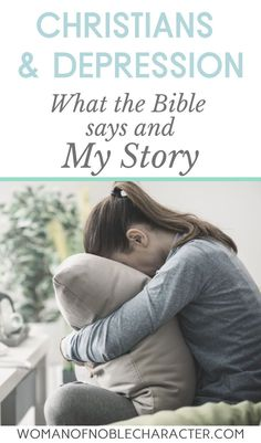 What the Bible says about depression, Key Bible figures with depression and my story about christians and depression. Scriptures to comfort you and show you that you are not alone. Christian Women, Christian Faith, Christian Living, Spiritual Warfare, Spiritual Growth, Christian Depression, Battling Depression, Biblical Marriage, Christian Encouragement