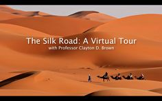 Silk Road Virtual Tour - nice visuals to share with students. Explore cultures.  Change over time.