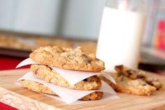 "Must try these ""cowboy cookies""...secret ingredient is Graham crackers!"
