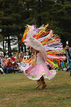 Redhawk Native American Arts Council Pow Wow - Women's Fancy Shawl Dancer