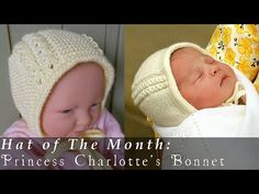 #Crochet Newborn Baby Bonnet #TUTORIAL Adorable baby Crochet DIY crochet bonnet - YouTube