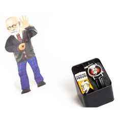 Freud Watch and card, shop at www.rigadritto.com