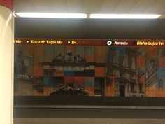 Budapest's metro station by @YahDuc
