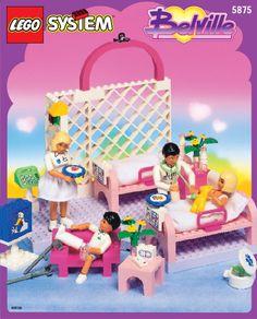 Lego HOSPITAL 5875 - Hospital 5875 Building Instr. 5875/5876 In - 1