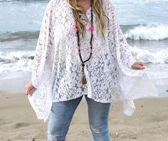 tunique boheme -grande taille-dentelle-bohemian-gypsy-