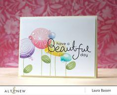 Laura Bassen: Altenew October 2016 Blog Hop - Simple Flowers