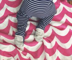 Bebe feet stripes and waves www.oceanstatestyled.com @oceanstatestyled