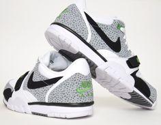 #Nike Air Trainer 1 Low Safari White #sneakers