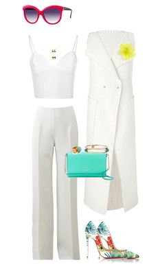 """""""Untitled #886"""" by louneia ❤ liked on Polyvore featuring Roland Mouret, Michael Kors, Glamorous, Christian Louboutin, Kate Spade, Italia Independent, DOUUOD, Ottoman Hands and Ashley Pittman"""