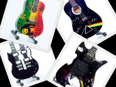 Miniature guitars from the '70s