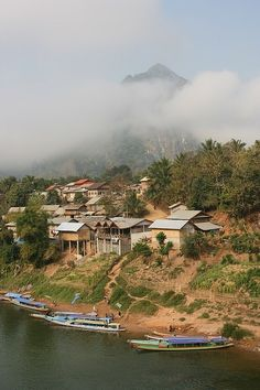 Nong Khiaw, Laos  -->see: http://www.lonelyplanet.com/asia/travel-tips-and-articles/77594?affil=twit
