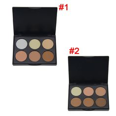 Cheap palette furniture, Buy Quality powder magnesium directly from China palette art Suppliers:   Professional New 6 Colors Contour Pressed Face Concealer Highlighting Bronzing Powder Makeup Blush Palette High Quali