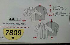 Πατρόν Νο 7809 για εύσωμες.Μεγέθη 44 εως 58. Μπορούμε να σας ετοιμάσουμε μονον το δικό σας για να το ραψετε μονες σας. Γιούλη Μαραβέλη τηλ:2221074152 Χαλκίδα