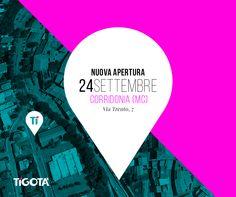 Giovedì 24 settembre abbiamo inaugurato il nuovo punto vendita #Tigotà a Corridonia in via Trento, 7.