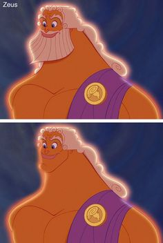 Disney characters without their beards