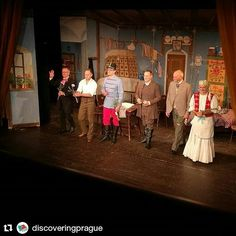 "Discovering Prague @discoveringprague had a great time watching ""The Stand In"" by Cimrman English Theatre. #cimrmanenglishtheatre #cimrmanenglishstudio#thestandin #discoveringpraguemeetup #discovering_prague #discoveringprague #meetup #fun #friends #visitCZ #czechrepublic #expats #Прага #Чехия #nofilter #jdc #jc #cimrman"