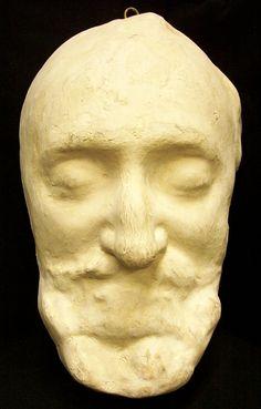 Death mask of Henry IV, King of France (1553 - 1610 )