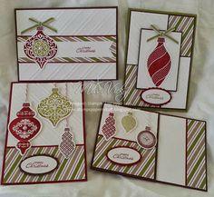 Stampin' Up!®: Pre-Cut Kits.... #ornament keepsakes #christmas card