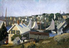 Gloucester Harbor - Edward Hopper, 1912