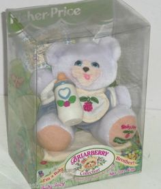Baby Joey Bear Briarberry Collection Fisher Price Vintage Retired | eBay