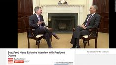 BuzzFeed's recently made headlines certainly after interviewing President Barack Obama this month.