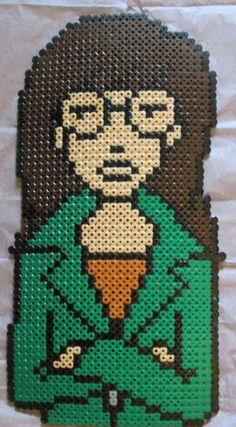 Daria hama perler beads by Keely Jade