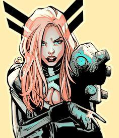 Magik by Humberto Ramos Magik Marvel, Marvel Comics, Marvel Art, Marvel Heroes, Ms Marvel, Captain Marvel, Marvel Women, Marvel Girls, Comics Girls